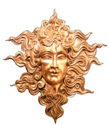 Apollon Solaire, scultpture de Chantal Wolkoff